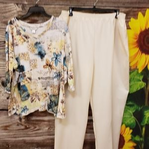 Cj Banks outfit top & unbranded pants Pre-owned